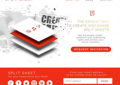 Split Sheet